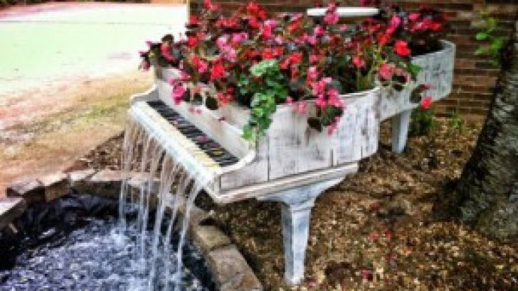 İlginç Fikirlerle Bahçe Dekorasyonu